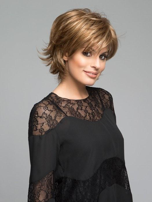 Women's Straight Gray Synthetic Wigs