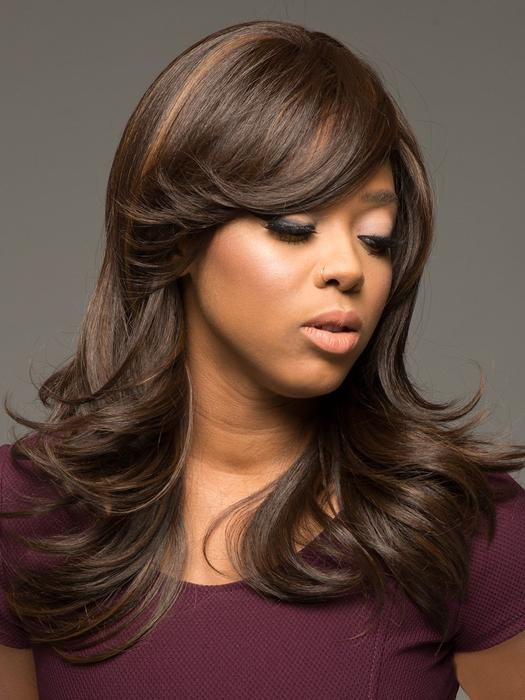 Women's Blonde Straight Synthetic Wig Basic Cap