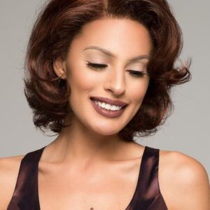 Women's Rooted Synthetic Lace Front Wig Hand-tied Monofilament