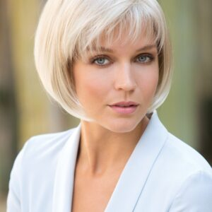 Cory | Women's Short Gray Straight Synthetic Wigs - wigglytuff.net
