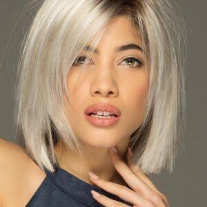 Ellis | Women's Straight Red Brunette Rooted New Arrivals Wigs - wigglytuff.net