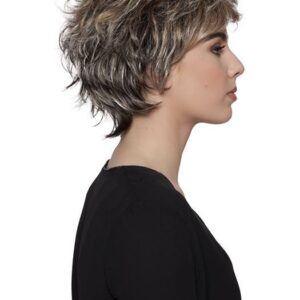 Women's Short Straight Synthetic Wig Basic Cap