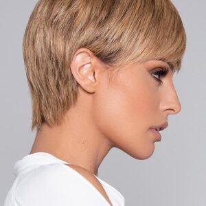 Ivory   Women's Straight Brunette Blonde Rooted Wigs - wigglytuff.net