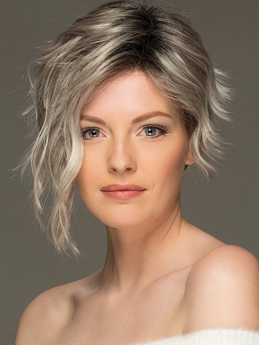 Ryan   Women's Red Pixie Layered Brunette Blonde Rooted New Arrivals Wigs - wigglytuff.net