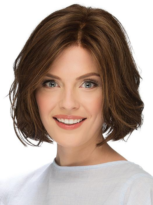 Sage | Women's Straight Red Synthetic Blonde Rooted Bob Black Wigs - wigglytuff.net
