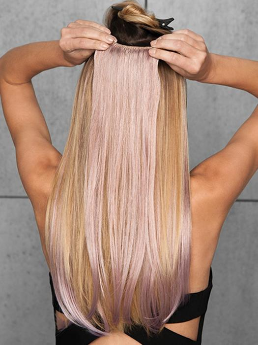 """23"""" Straight HF Synthetic Hair Extensions Kit (6 Piece) 