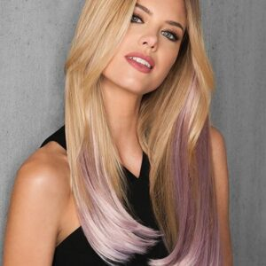"23"" Straight HF Synthetic Hair Extensions Kit (6 Piece) 