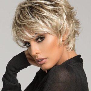 Club 10 | Women's Brunette Synthetic Rooted Wigs - wigglytuff.net
