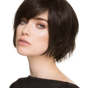 Echo | Blonde Rooted Straight Lace Front Brunette Layered Synthetic Wigs - wigglytuff.net