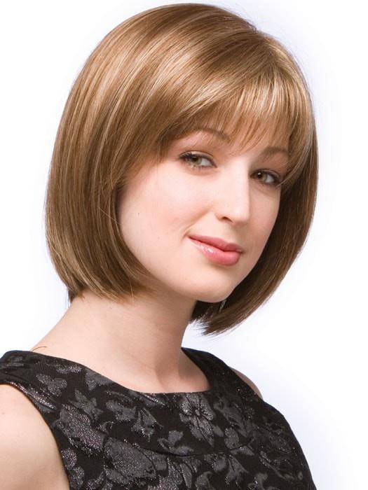 Erika | Blonde Mid-Length Synthetic Short Women's Wigs - wigglytuff.net