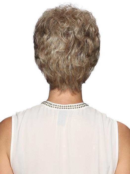 Jamie | Gray Straight Red Women's Brunette Wigs - wigglytuff.net