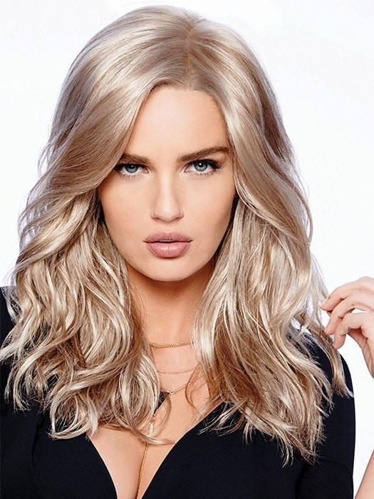 Longing for Long   Blonde Mid-Length Rooted Monofilament Red Brunette Black Synthetic Wigs - wigglytuff.net