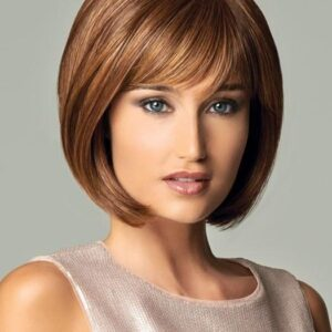 Loyalty | Women's Blonde Synthetic Mid-Length Brunette Wigs - wigglytuff.net