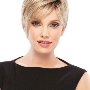 Natalie | Women's Synthetic Brunette Blonde Short Wigs - wigglytuff.net
