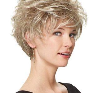 Perk | Blonde Synthetic Short Gray Women's Wigs - wigglytuff.net