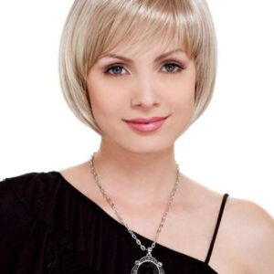 Charm Petite | Gray Straight Red Short Brunette Rooted Wigs - wigglytuff.net