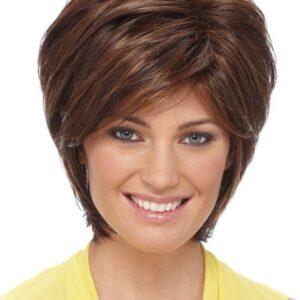 Renae   Gray Straight Red Women's Blonde Wigs - wigglytuff.net