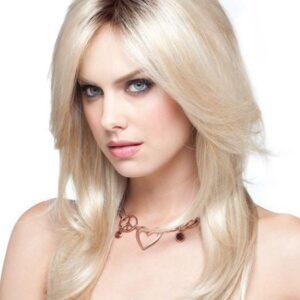 Shilo | Women's Long Synthetic Monofilament Brunette Wigs - wigglytuff.net