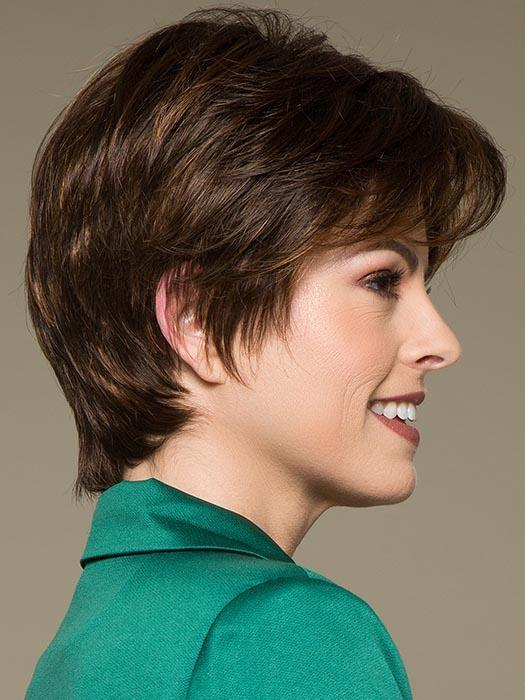 Smart Mono | Blonde New Arrivals Layered Rooted Short Synthetic Monofilament Lace Front Wigs - wigglytuff.net