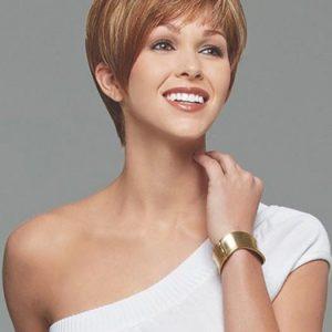 Strength | Gray Straight Short Women's Brunette Wigs - wigglytuff.net