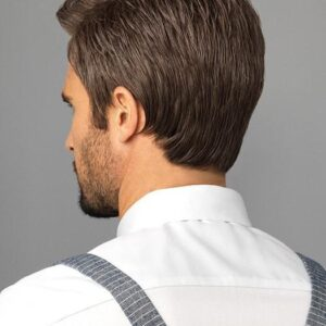 Style | Gray Straight Short Men's Wigs - wigglytuff.net