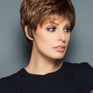 Winner Elite   Blonde Monofilament Black Gray Lace Front Red Women's Rooted Wigs - wigglytuff.net