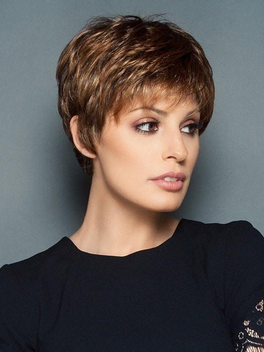 Winner Elite | Blonde Monofilament Black Gray Lace Front Red Women's Rooted Wigs - wigglytuff.net