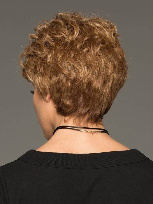 Acclaim Petite | Blonde Gray Short Red Wavy Wigs - wigglytuff.net