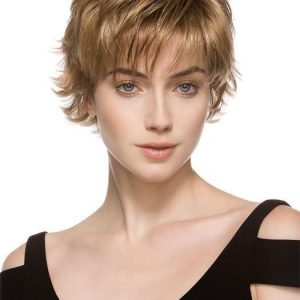 Date | Blonde Rooted Synthetic Short Women's Wigs - wigglytuff.net