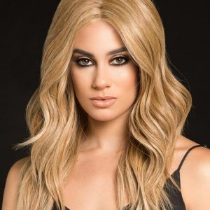 High Profile | Blonde Long Rooted Women's Lace Front Black Monofilament Brunette Wigs - wigglytuff.net