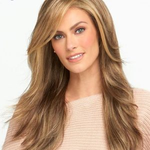 Miles of Style | Blonde Long Brunette Wavy Synthetic Layered Wigs - wigglytuff.net