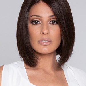 Prestige | Black Monofilament Straight Short Lace Front Rooted New Arrivals Bob Wigs - wigglytuff.net