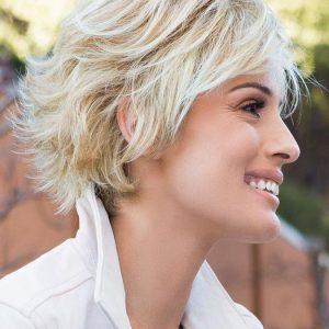 Voltage Elite | Blonde Short Women's Brunette Gray Red Black Synthetic Wigs - wigglytuff.net