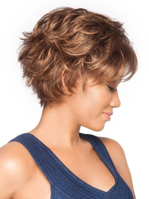 Voltage Large | Blonde Short Rooted Wavy Brunette Straight Black Synthetic Wigs - wigglytuff.net