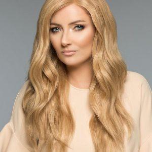 Amber H-Mono | Black Straight Long Blonde Women's Wigs - wigglytuff.net