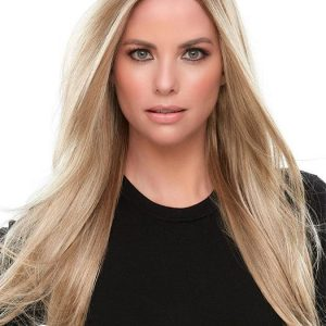 Ariana | Black Monofilament Straight Red Lace Front Blonde New Arrivals Rooted Wigs - wigglytuff.net