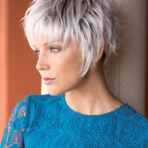 Billie | Brunette Short Synthetic Pixie Wigs - wigglytuff.net