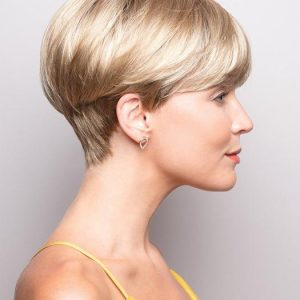 Blake | Brunette Short Synthetic Pixie Straight Wigs - wigglytuff.net