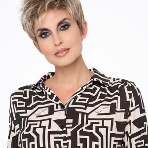 Ivy   Black Blonde Monofilament Red Gray Short Lace Front Synthetic Wigs - wigglytuff.net
