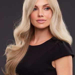 Kim | Brunette Red Layered Blonde Human Hair Women's Lace Front Wigs - wigglytuff.net