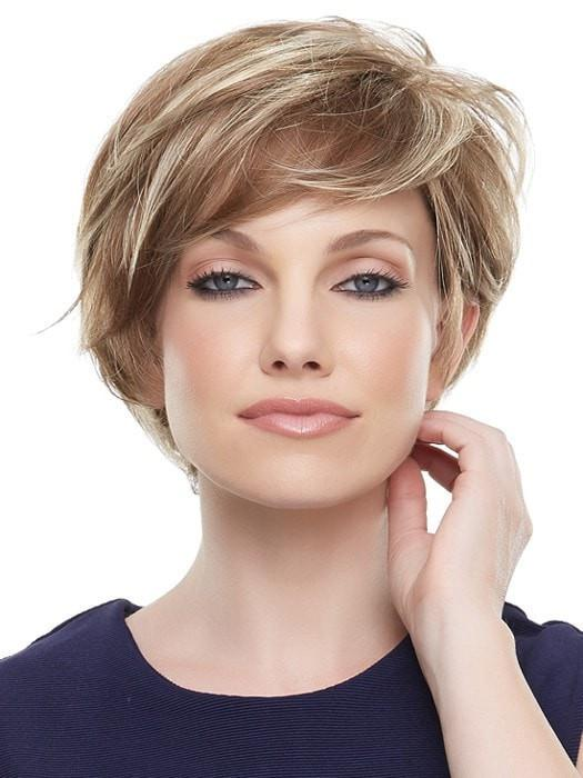 Mariska Petite | Black Synthetic Short Straight Lace Front Blonde Red Women's Wigs - wigglytuff.net