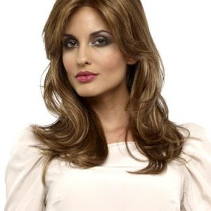 Monique   Black Synthetic Rooted Lace Front Red Women's Wigs - wigglytuff.net