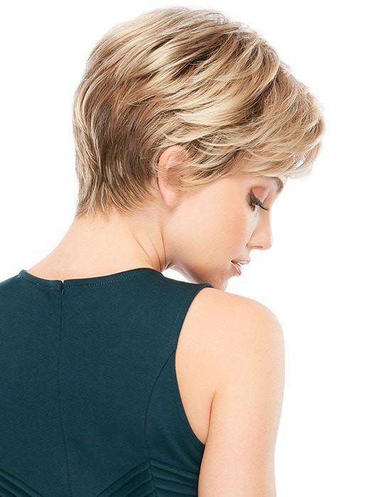 Allure | Red Women's Pixie Brunette Blonde Gray Straight Short Wigs - wigglytuff.net