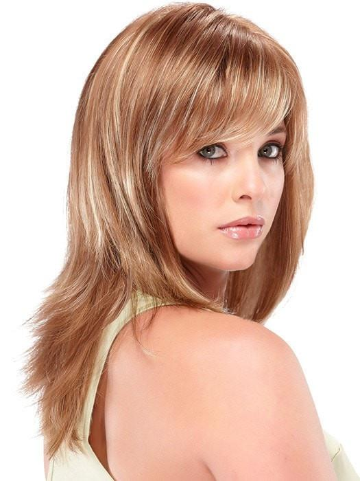 Angelique Average   Red Women's Synthetic Black Straight Wigs - wigglytuff.net