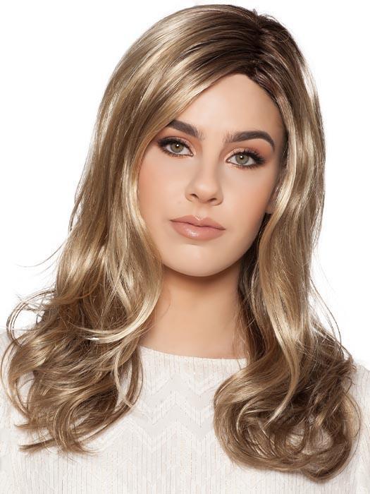 Camila | Red Long Blonde Women's Gray Synthetic Wigs - wigglytuff.net