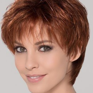 Ivy | Red Synthetic Short Rooted Lace Front Wigs - wigglytuff.net