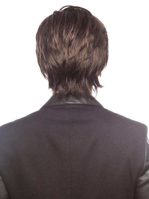 Johnny | Brunette Blonde Gray Men's Straight Wigs - wigglytuff.net