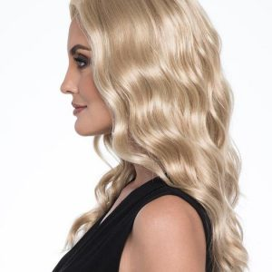 Maya | Brunette Rooted Long Blonde Gray Monofilament Red Lace Front Wigs - wigglytuff.net
