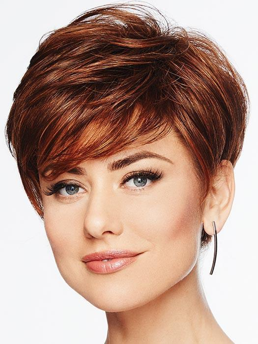 Perfect Pixie | Red Synthetic Short Blonde Women's Straight Wigs - wigglytuff.net