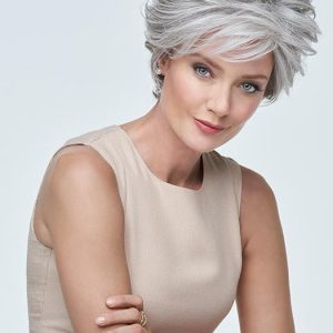 Ready For Takeoff | Brunette Black Blonde Rooted Women's New Arrivals Short Lace Front Wigs - wigglytuff.net